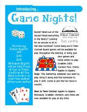 Game Nights