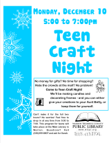 Teen Craft Night