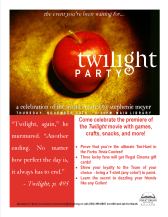 Twilight Movie Premiere Party