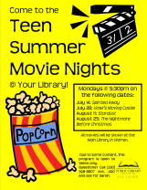 Teen Summer Movie Night