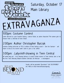 Teen Read Week 2009