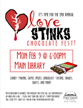 2nd Annual Love Stinks Chocolate Fest