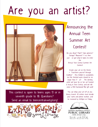 Teen SRP 2009 Annual Art Contest
