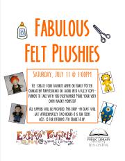 Fabulous Felt Plushies