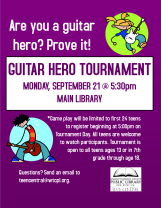 Guitar Hero Tournament