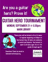 Guitar Hero Tournament