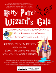 Harry Potter Wizard's Gala for Deathly Hallows movie premiere