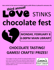 3rd Annual Love Stinks Chocolate Fest