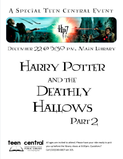 Harry Potter and the Deathly Hallows, Part 2 Movie Night