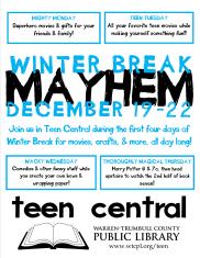 Winter Break Mayhem 2012