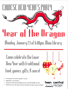 Chinese New Year Party: Year of the Dragon