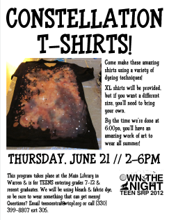 Constellation T-Shirts