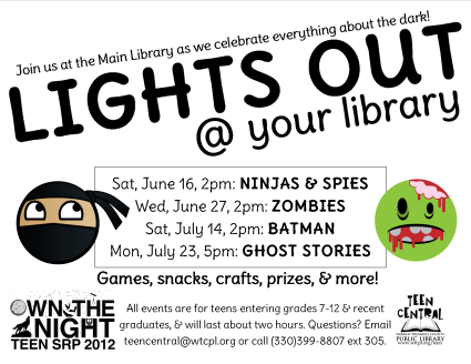 Lights Out @ your library