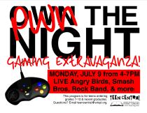 Pwn the Night Gaming Extravaganza