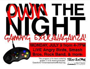 Pwn the Night Gaming Extravaganza
