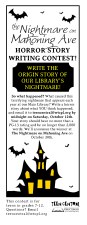 Horror Story Writing Contest