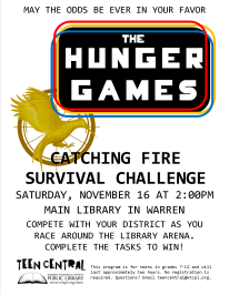 Catching Fire Survival Challenge