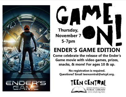 Game On: Ender's Game Edition