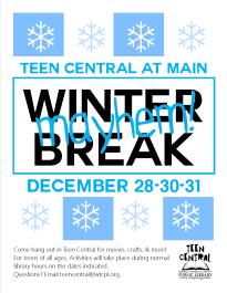Winter Break Mayhem 2014