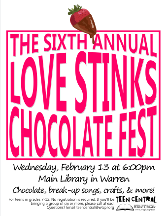 6th Annual Love Stinks Chocolate Fest