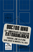 All-ages Doctor Who 50th Anniversary Celebration Extravaganza