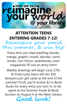 Teen SRP 2013 informational flyer