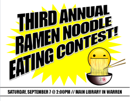 Teen Central Anime: 3rd Annual Ramen Noodle Eating Contest