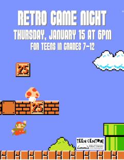 Retro Game Night