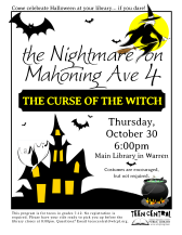 The Nightmare on Mahoning Ave 4: The Curse of the Witch