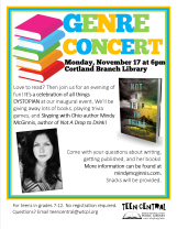 Genre Concert featuring Mindy McGinnis