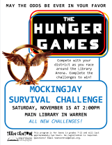Mockingjay Survival Challenge