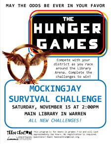 Mockingjay Survival Challenge
