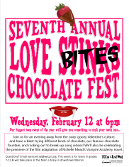 8th Annual Love BITES Chocolate Fest - vampire themed for Vampire Academy movie premiere