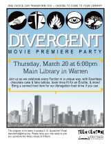 Divergent Movie Premiere Party
