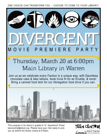 Divergent Movie Premiere Party