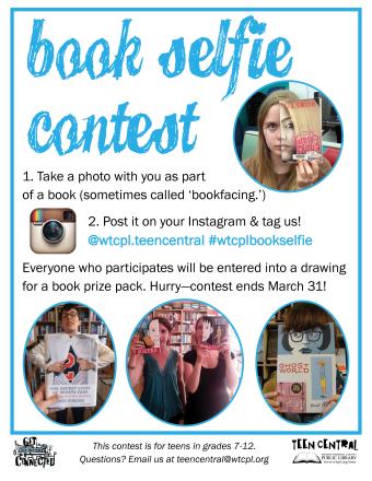 Teen Tech Week 2015 Book Selfie Contest