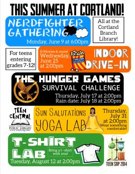 Summer 2014 at Cortland