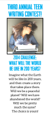 Teen SRP 2014 Writing Contest entry form