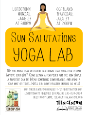Sun Salutations Yoga Lab
