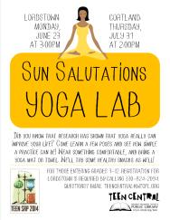 Sun Salutations Yoga Lab