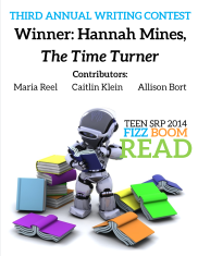 Teen SRP 2014 Writing Contest compilation cover