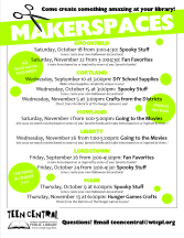 Makerspaces Fall 2014