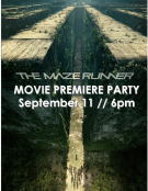 The Maze Runner Movie Premiere Party
