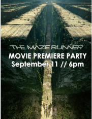 The Maze Runner Movie Premiere Party