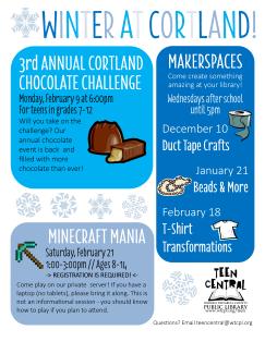Winter 2014-2015 at Cortland