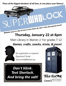 SuperWhoLock Party