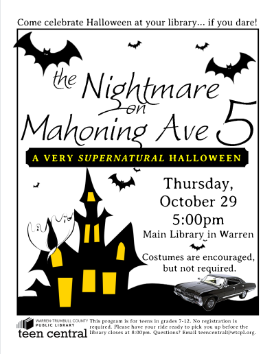 The Nightmare on Mahoning Ave 5: A Very Supernatural Halloween