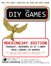 The DIY Games: Mockingjay Edition to celebrate the final Hunger Games movie