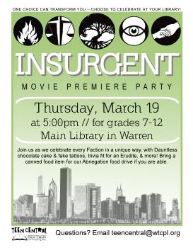 Insurgent Movie Premiere Party