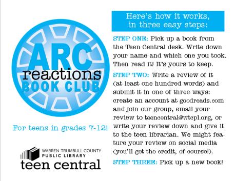 ARC Reactions Passive Book Club